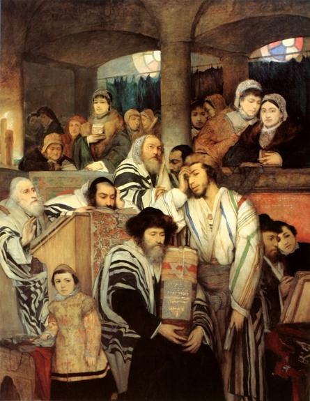 Gottlieb_Jews_Praying_in_the_Synagogue_on_Yom_Kippur